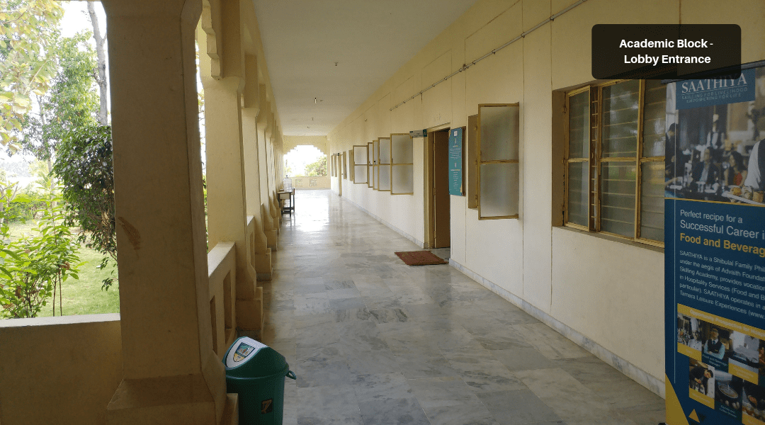 3. Academic Block - Lobby Entrance