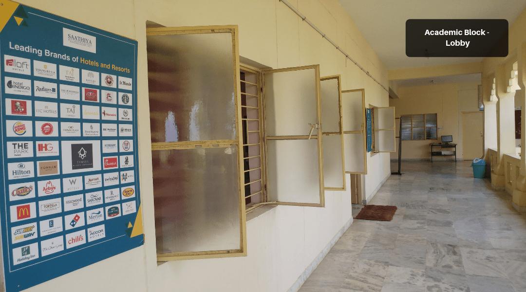 4. Academic Block - Lobby