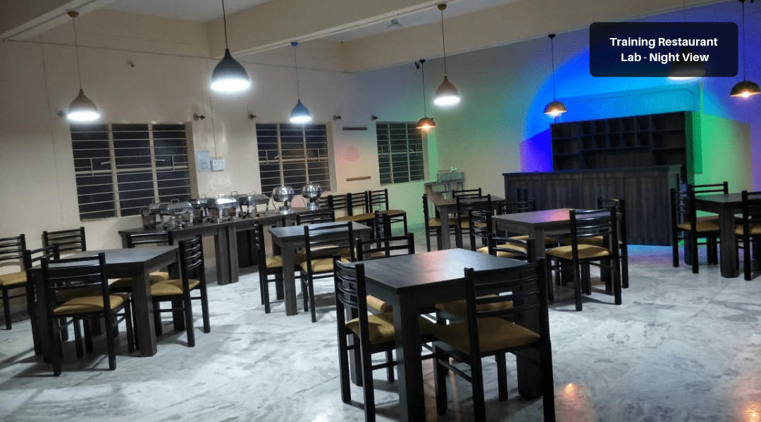 8. Training Restaurant Lab - Night View